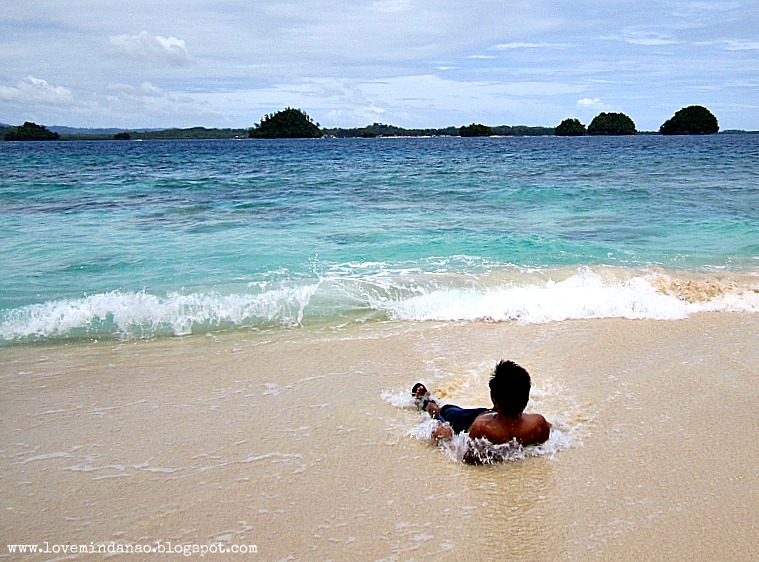 Baring it All at the Naked Island in San Agustin, Surigao