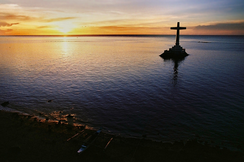 The Sunken Cemetery Sunset by www.i1.trekearth.com