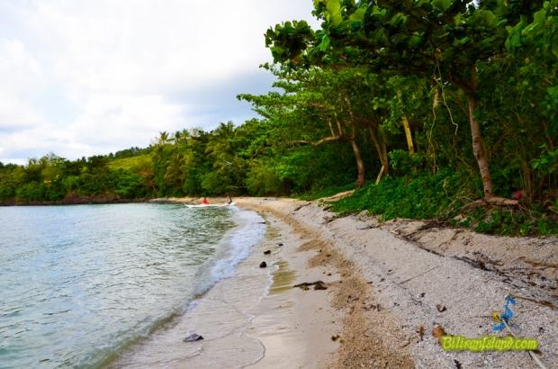 The Cogon Beach in Sitio Cogon, Brgy. Balacson, Kawayan, Biliran. Photo by Jalmz of www.biliranisland.com