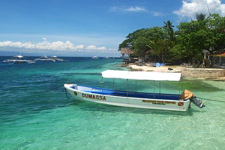 Panagsama Beach Image source: www.virtourist.com
