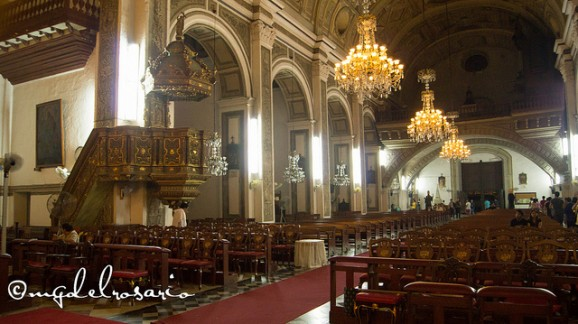 Church's interior Image source: Marc Gerard Del Rosario