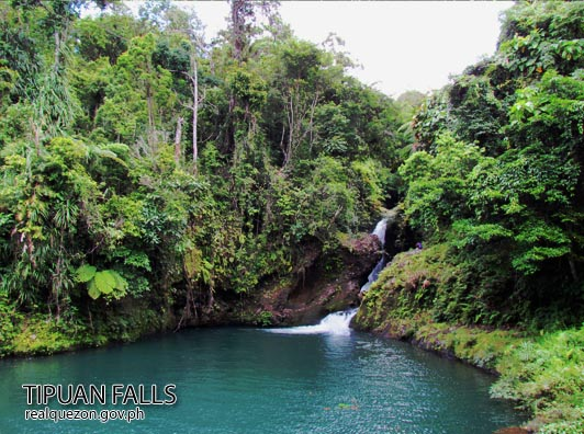 Tipuan Falls Image source: www.realquezon.ph