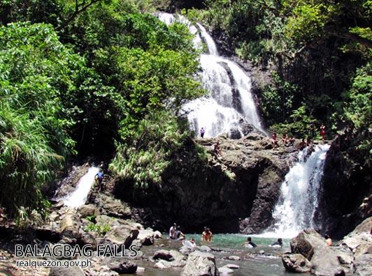 Balagbag Falls Image source: www.realquezon.ph