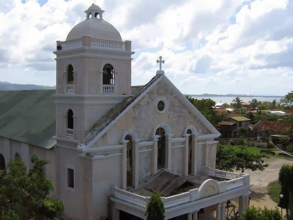 The Roman Catholic Church of Palompon Image source: magmalipayonpalompon.blogspot.com