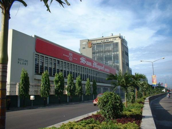 San Miguel Beer Brewery Image source: wikimapia.org