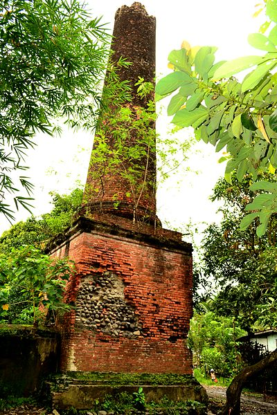 Muscovado Sugar Mill Brick Chimney Image source:Hbalairos/CC