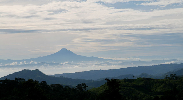 Mt. Matutum as seen from Barangay Ned, Lake Sebu, South Cotabato. Image source: Keith Bacongco/CC