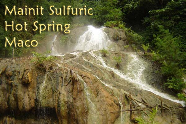 Mainit Sulfuric Hot Spring Image source: ecomval.gov.ph