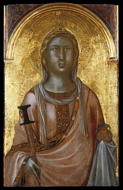Saint Lucy Image source: Walters Art Museum/Creative Commons