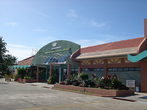 Caticlan Airport in Malay, Aklan Photo by: Magalhães /Wikimedia Commons