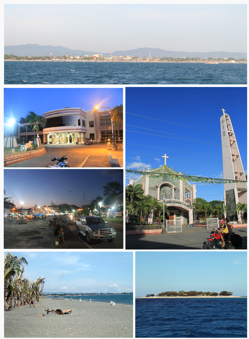 Montage of San Jose, Occidental Mindoro Photo by: Hariboneagle927 /Wikimedia Commons
