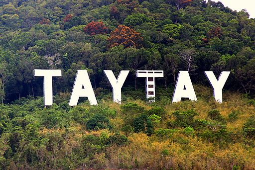 Taytay Sign Photo by: Jimaggro /Wikimedia Commons
