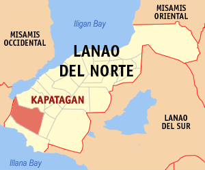 Map of Kapatagan, Lanao del Norte Photo by: Magalhãe/Wikimedia Commons