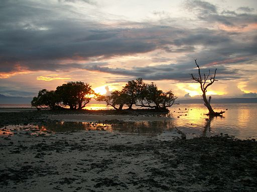 Sunset at Siquijor Photo by: P199/Wikimedia Commons