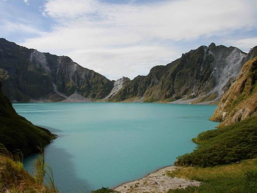 Crater of Mt. Pinatubo Photo by: ChrisTomnong/Wikimedia Commons