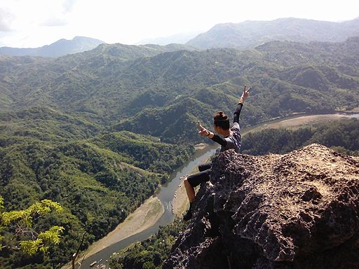 Mountaineering Photo by: ThisIsMarkSantiago/Wikimedia Commons