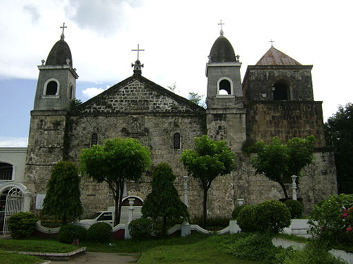 Tigbauan Church Photo by: Ryme26/Wikimedia Commons