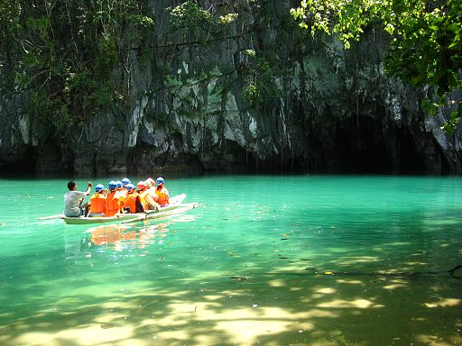 Puerto Princesa Subterranean River National Park Photo by: RioHondo/Wikimedia Commons
