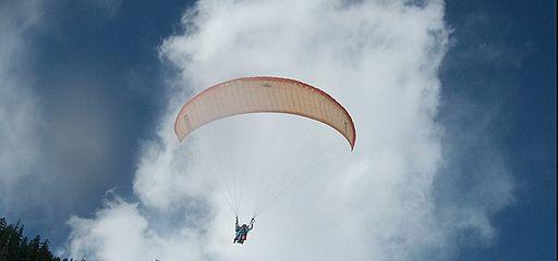 Sky Diving Photo by: Jayasree/Wikimedia Commons