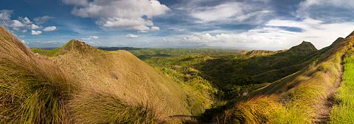 Panorama from the Mt. Batulao Photo by: Magnus Manske/Wikimedia Commons
