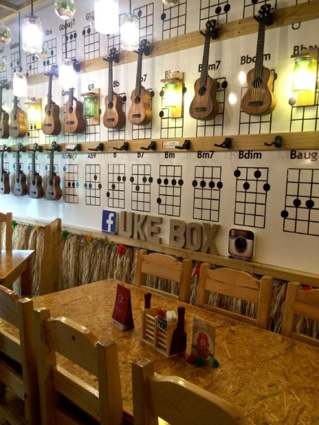 Uke Box Caffe Photo by:  @ukeboxcaffe/Facebook