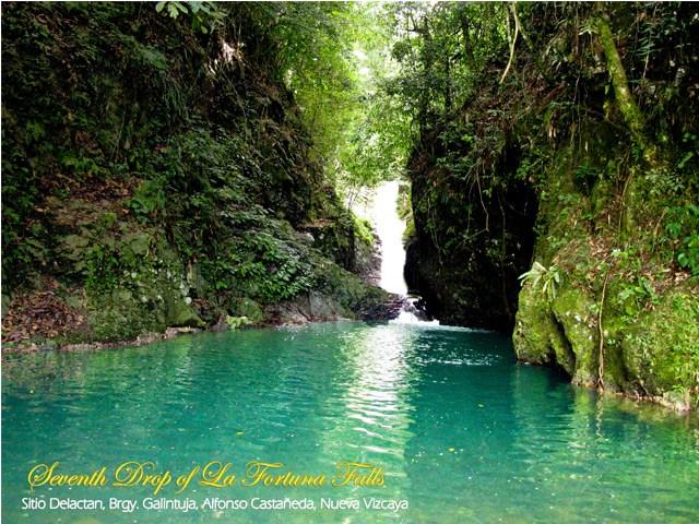 7th Drop of La Fortuna Falls Photo by: nuevavizcaya.gov.ph