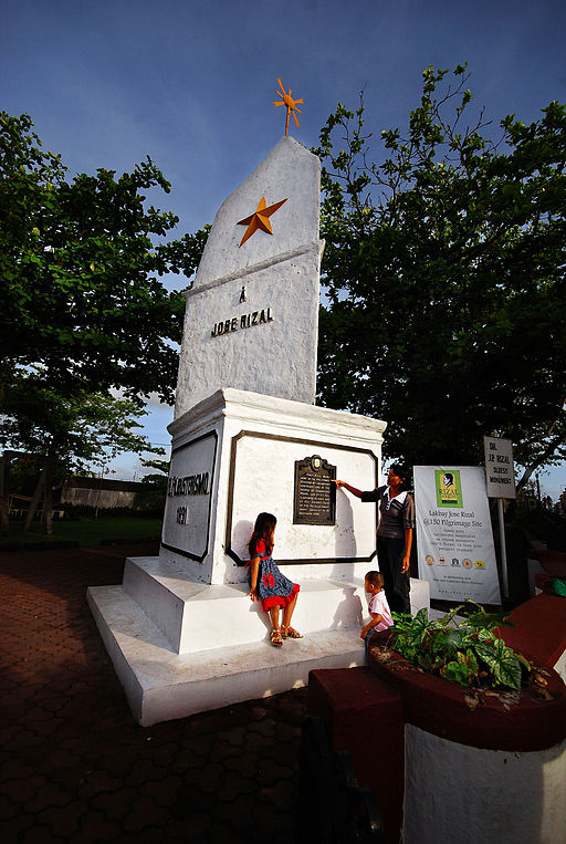First Rizal Monument Photo by: Firehorse/Wikimedia Commons